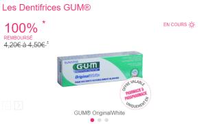 Read more about the article Les Dentifrices GUM® 100% remboursé sous 7 jours