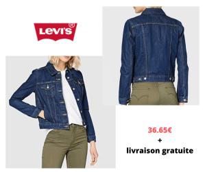 Levi's Original Trucker Veste en Jean Femme à 36.65€