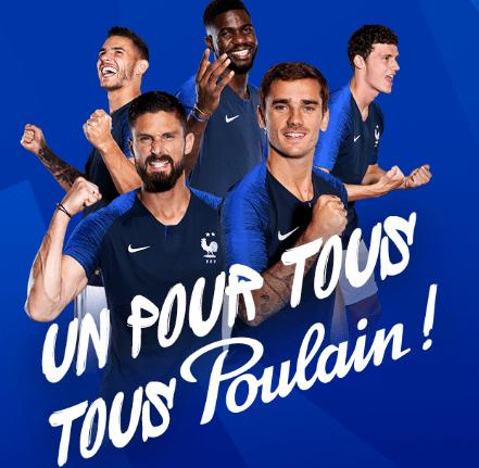 Poster de l'équipe de France gratuit