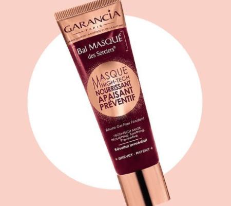 La crème Bal Masqué des Sorciers  de Garancia dans votre magazine Elle