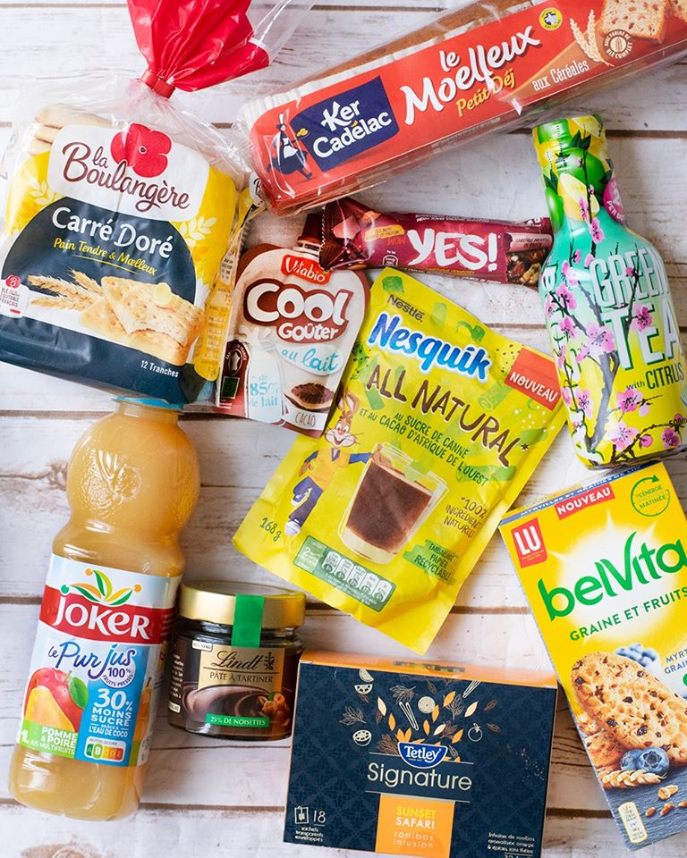 Test gratuit de  la Degusta Box