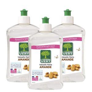 Lot de 3  liquide vaisselle L'Arbre Vert Amande – 500 ml à 3.78€