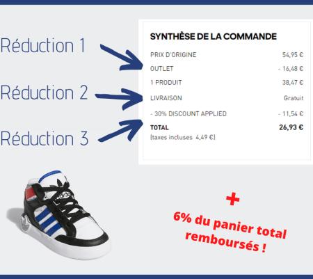 Bon plan Adidas