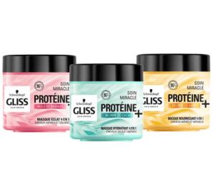 TestGliss soin Miracle Proteine + 4 en 1 ( au Féminin )
