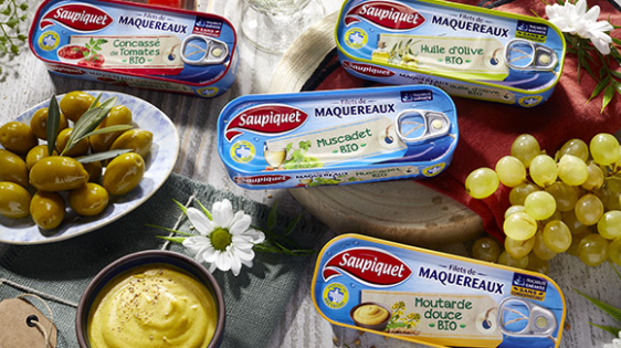 Read more about the article Optimisation du jour : Saupiquet – Filets de Maquereaux aux ingrédients Bio