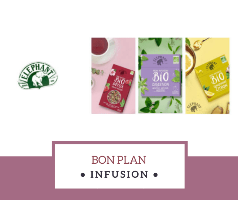Read more about the article Bon plan infusion Eléphant