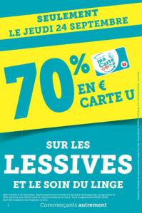 Read more about the article Drive U : faites votre stock de lessive gratuit !