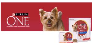 Echantillon Purina One chien