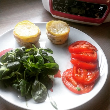 Read more about the article Recette de muffins de pomme de terre au canard