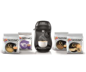 Read more about the article Bon plan Cdsicount : BOSCH Tassimo Happy + 4 packs de T-Discs – Noir + 10€ de réduction sur les T-discs