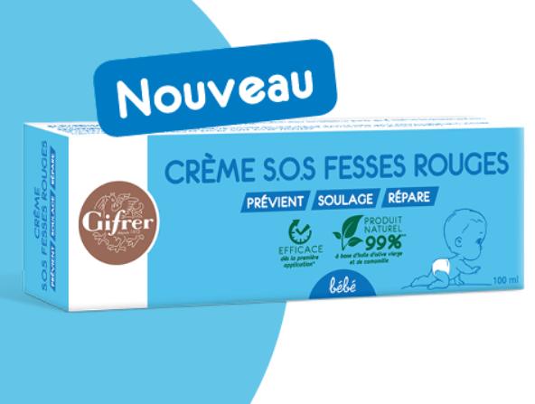 Read more about the article 100% remboursé :  la crème SOS Fesses Rouges de Gifrer