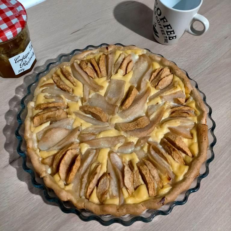 Read more about the article Tarte aux pommes et aux poires