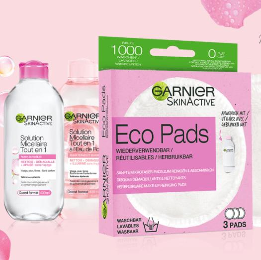 Read more about the article Test combo Eco Pads et Eau Micellaire Garnier.