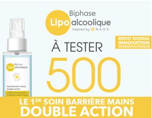 Read more about the article Test Biphase Lipo alcoolique de Bioderma