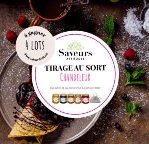 Concours du 13 janvier 2021 :  4 paniers gourmands de confitures bio de France spécial chandeleur
