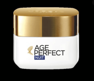 Test  soin Nuit Age Perfect Expert Collagène Raffermissant Remaillant de L'Oréal Paris