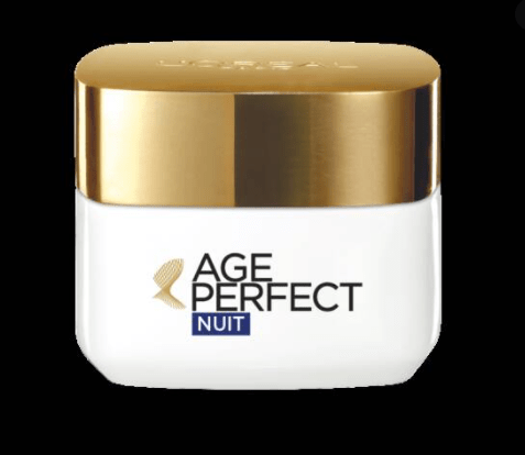 Test  soin Nuit Age Perfect Expert Collagène Raffermissant RemaillantdeL'Oréal Paris