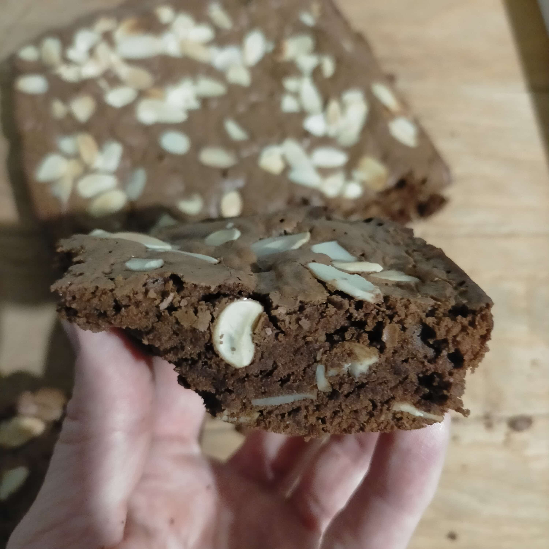 Recette de brownies aux amandes effilées