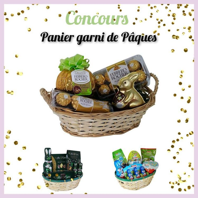Read more about the article Concours partenariat : Un panier garni de pâques à gagner