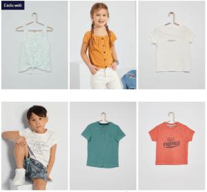Read more about the article Bon plan T-shirts Kiabi