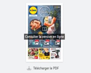 Catalogue Lidl de la semaine du 24 au 30 mars 2021