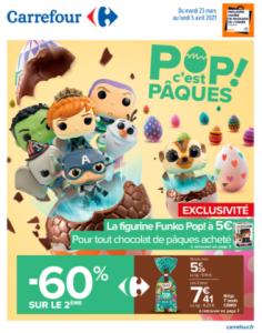 Catalogue promo de Pâques chez  Carrefour
