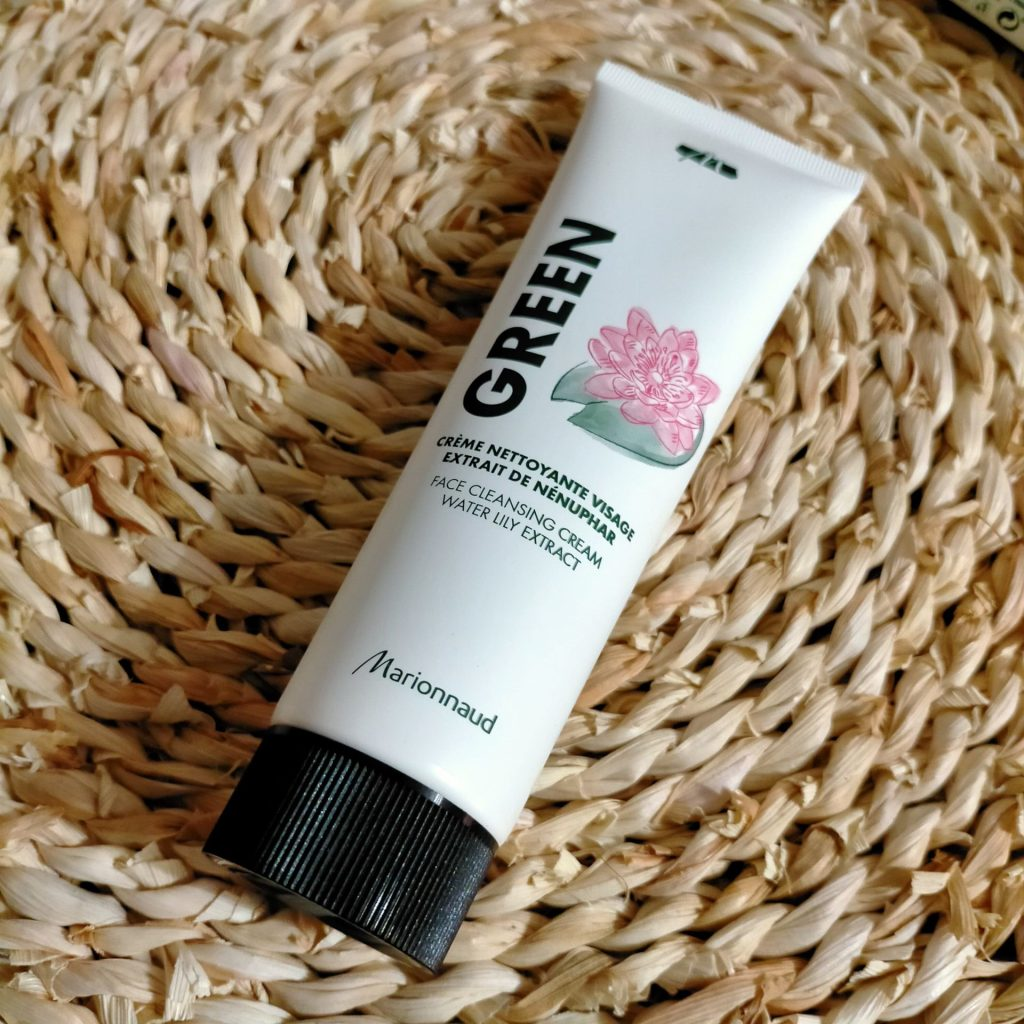 Crème nettoyante visage – Extrait de Nénuphar