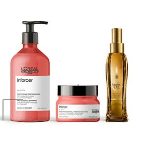 Test gratuit : routine  pack réparation L'Oréal professionnel