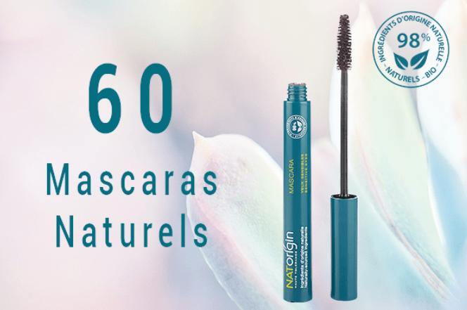Tests gratuits :  mascaras et poudres compactes Naturelles Natorigin