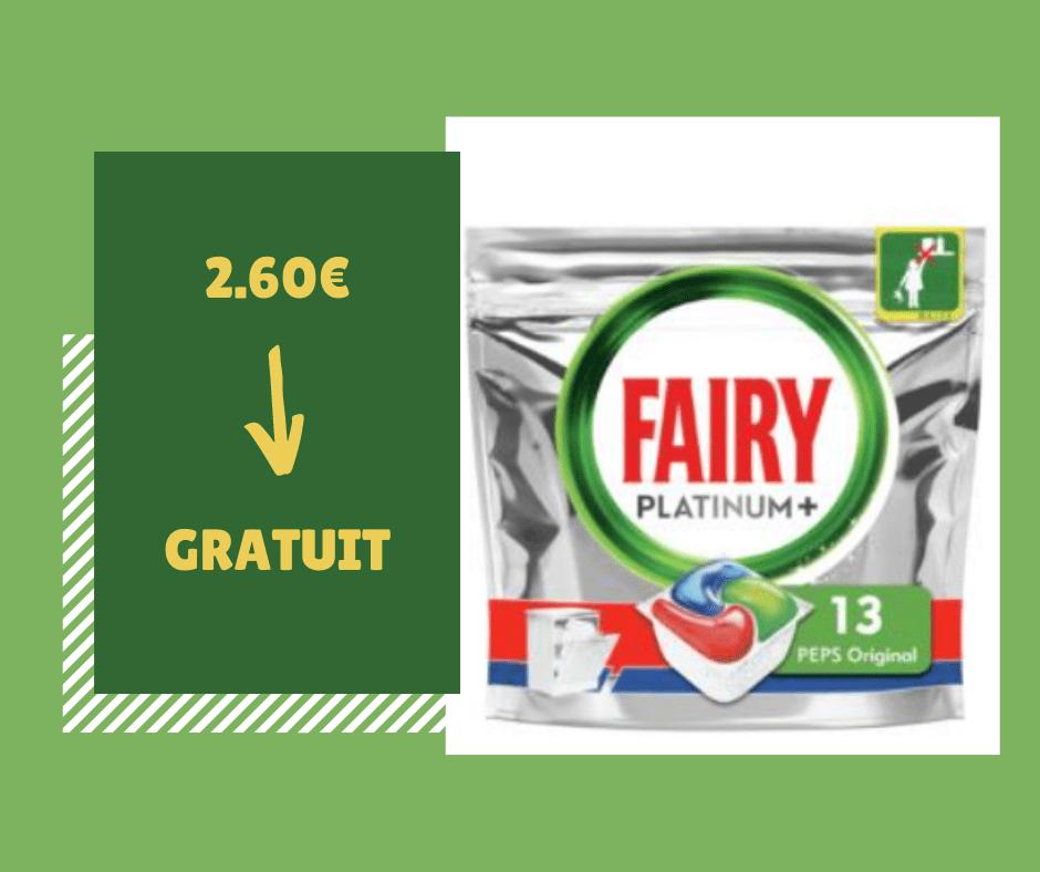 Read more about the article Optimisation du jour : Tablette lave-vaisselle tout en 1 platinum+ original FAIRY