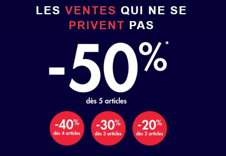 Read more about the article Les ventes qui ne se privent pas chez kiabi