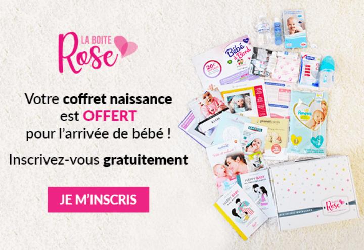 You are currently viewing Coffret naissance offert par la Boite Rose