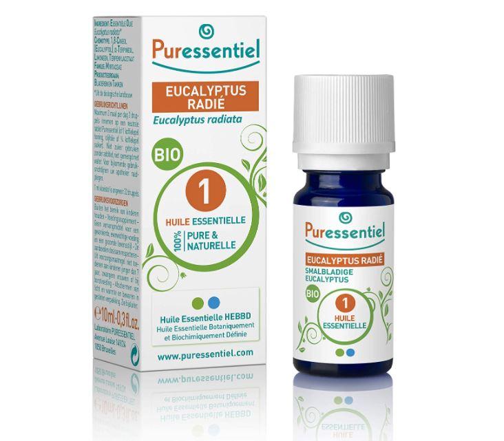 Puressentiel - Huile Essentielle Eucalyptus Radié - Bio - 100% pure et naturelle