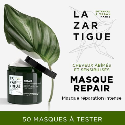 You are currently viewing Testezle Masque Réparation Intense de Lazartigue