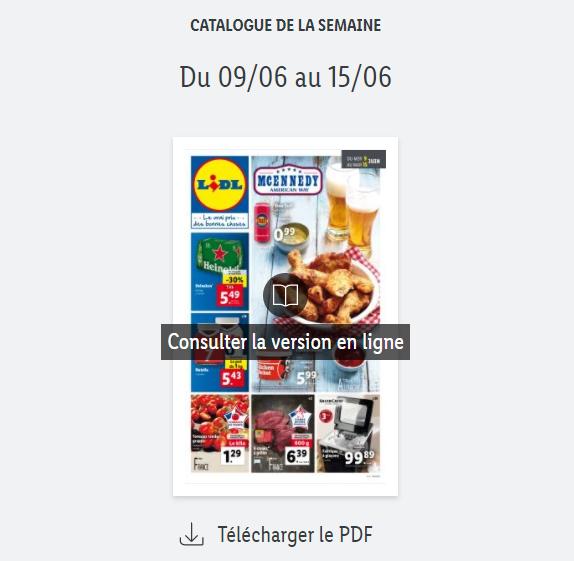 You are currently viewing Catalogue Lidl  de la semaine du 09 au 15 juin 2021