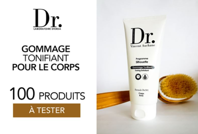 You are currently viewing Test gratuit : Gommage Tonifiant de Laboratoire Eferda