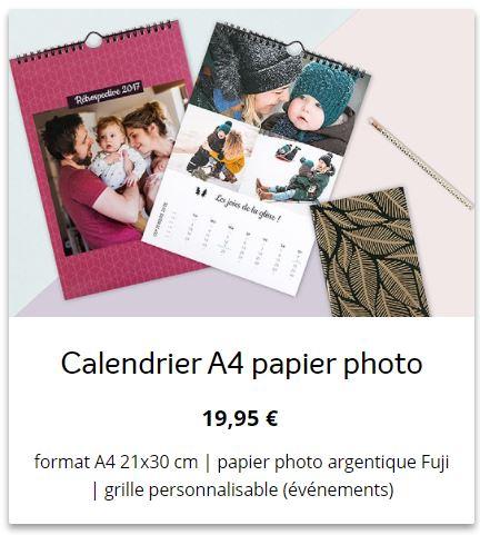 Bon plan : un calendrier photos