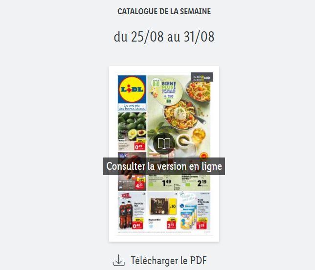 You are currently viewing Catalogue Lidl de la semaine du 25 au 31 août 2021