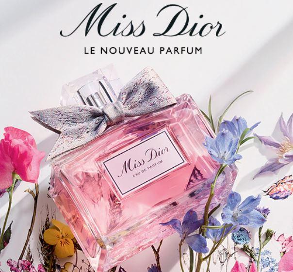 Echantillon Miss Dior