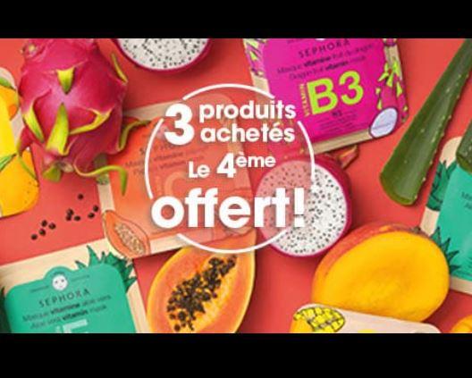 You are currently viewing Masque Sephora : 3 achetés 1 gratuit