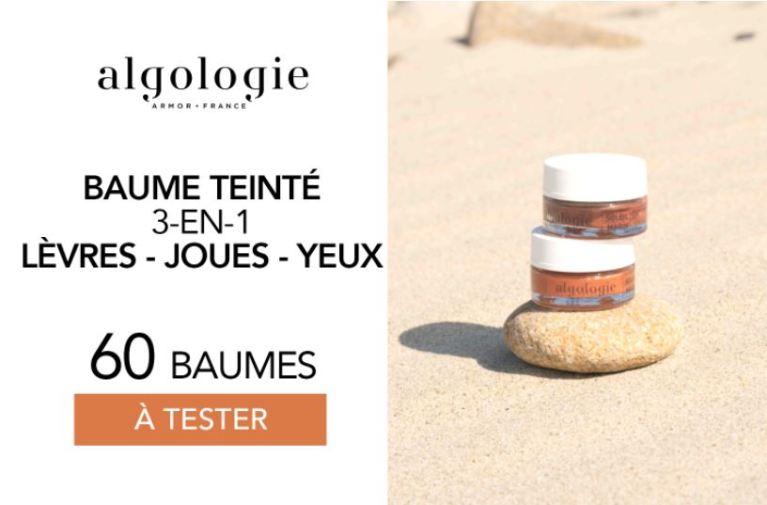 Read more about the article Test gratuit : le Baume Teinté 3-en-1 d'Algologie