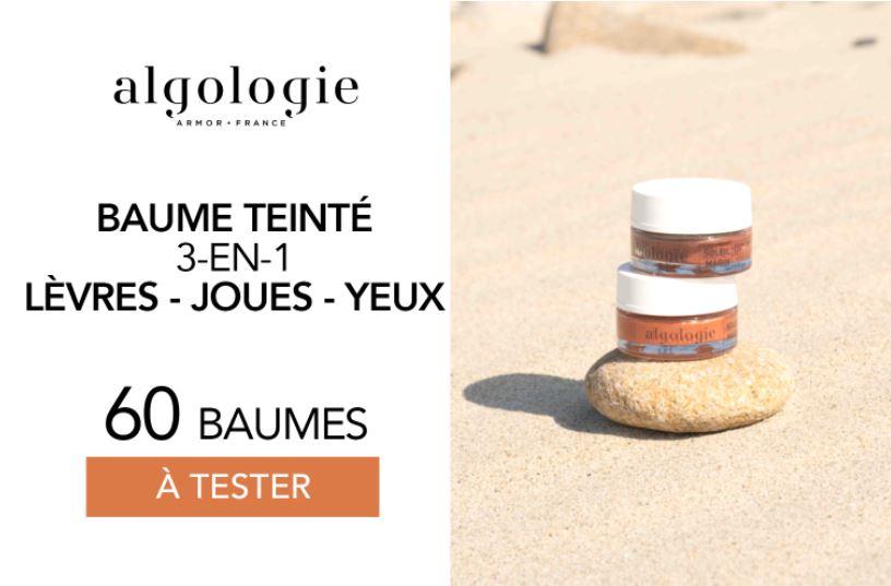 You are currently viewing Test gratuit : le Baume Teinté 3-en-1 d'Algologie