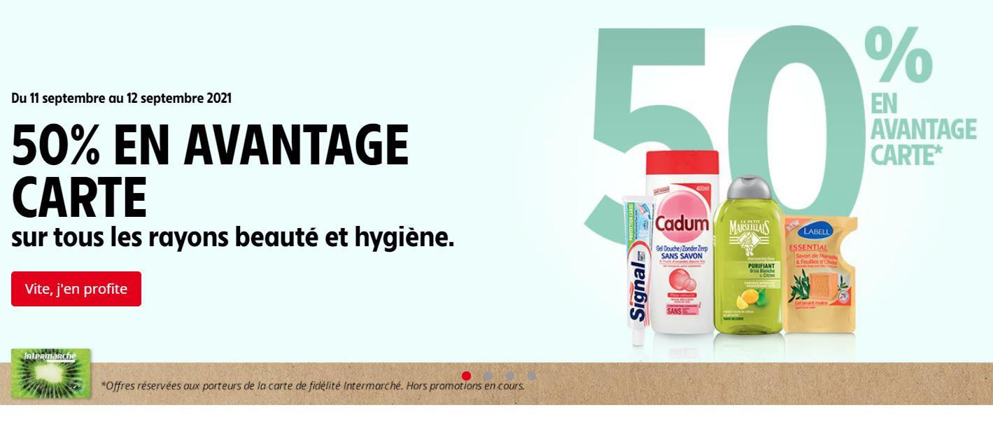 You are currently viewing Faites votre stock produits d'hygiène chez Intermarché