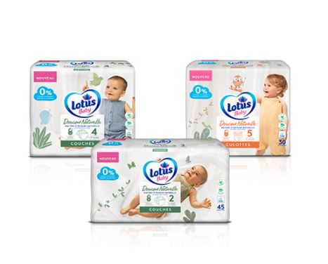 Read more about the article Echantillon gratuit : couches lotus baby