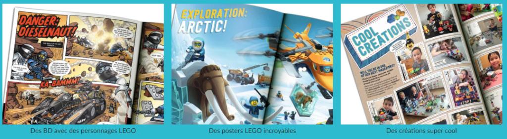 Gratuit : Abonnement au magazine LEGO life