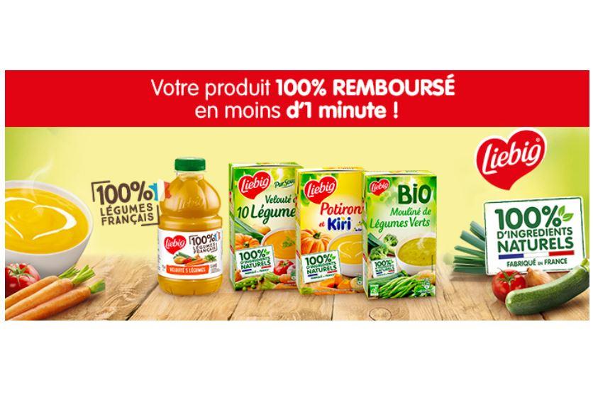 Read more about the article Gratuit : soupe Liebig 100% remboursée