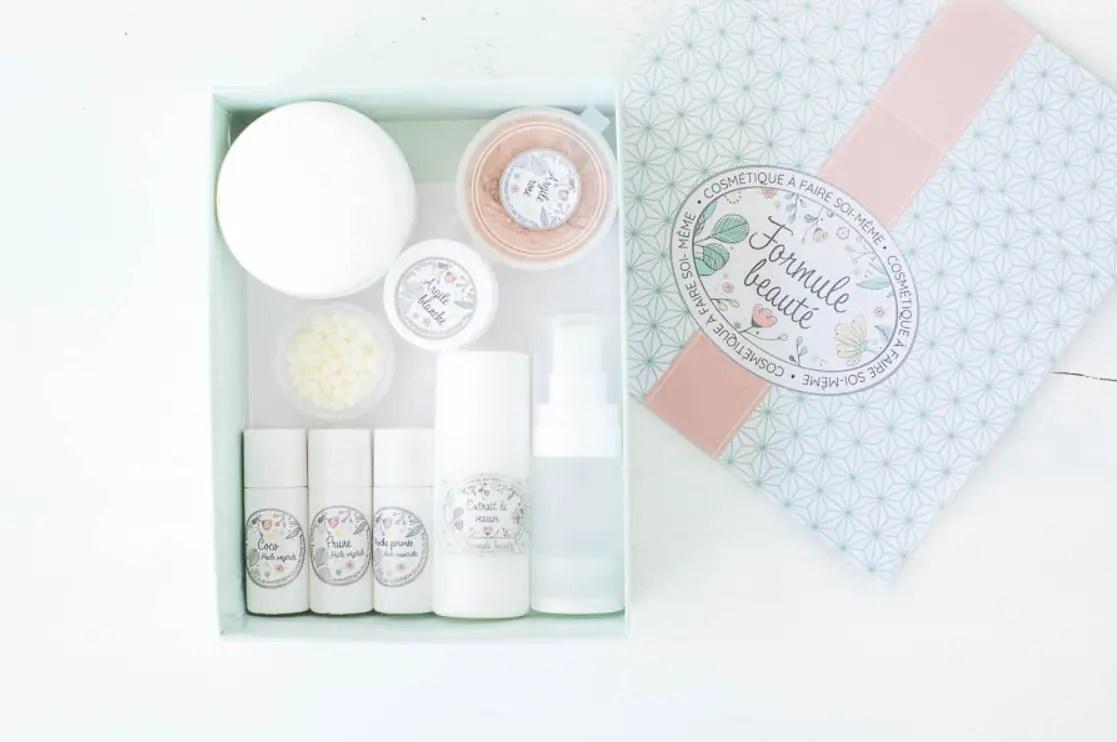 Formule beauté box cosmétique faire soi-même