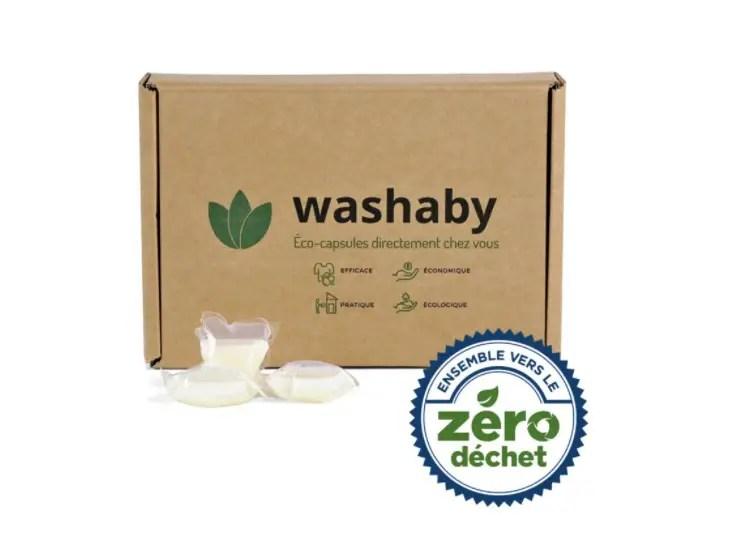 Washaby lessive zéro déchet