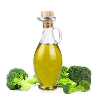L'huile végétale de brocoli