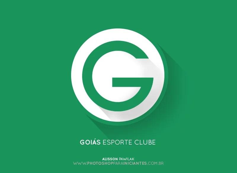 Goias - Escudo Minimalista